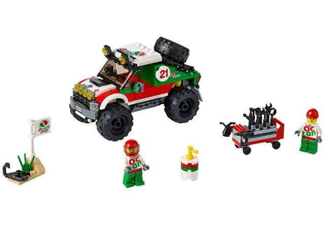 Lego-City,Masina de teren 4x4