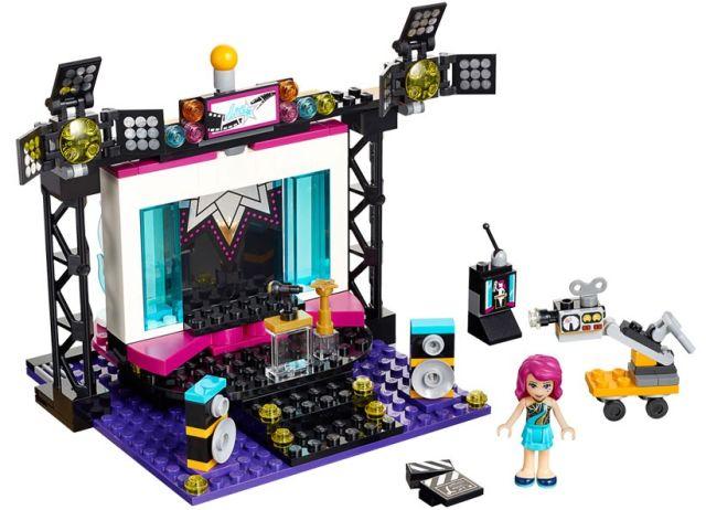 Lego-Friends,Studioul de filmari al vedetei pop