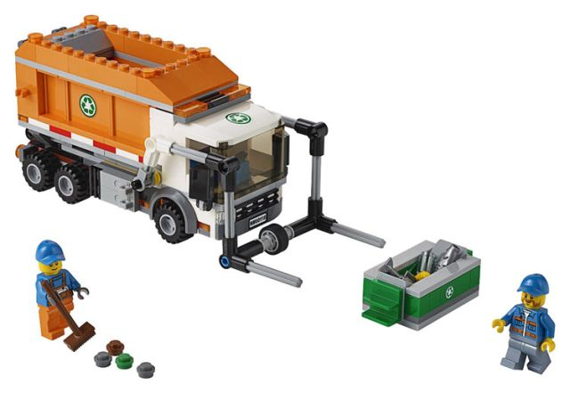 Lego-City,Camion pentru gunoi