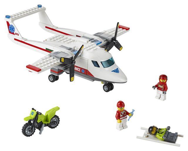 Lego-City,Avion sanitar