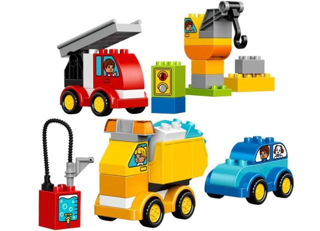 Lego-Duplo,Primele mele masini si camioane