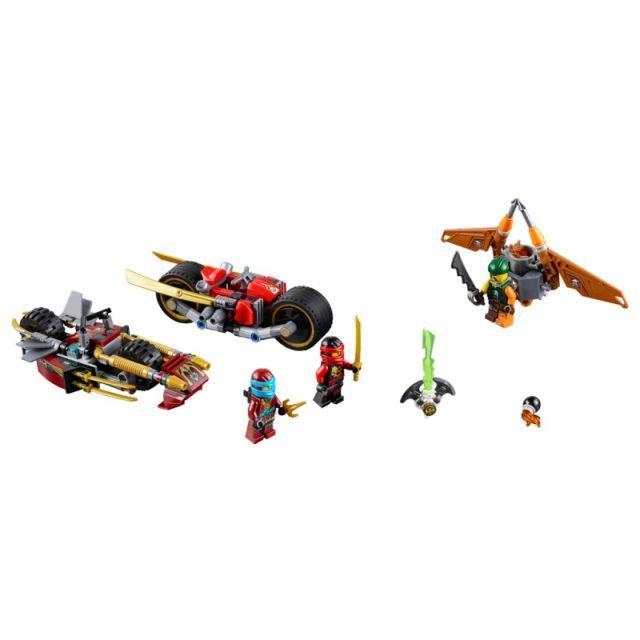 Lego-Ninjago,Urmarirea Ninja cu motocicleta