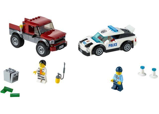 Lego-City,Urmarirea infractorilor