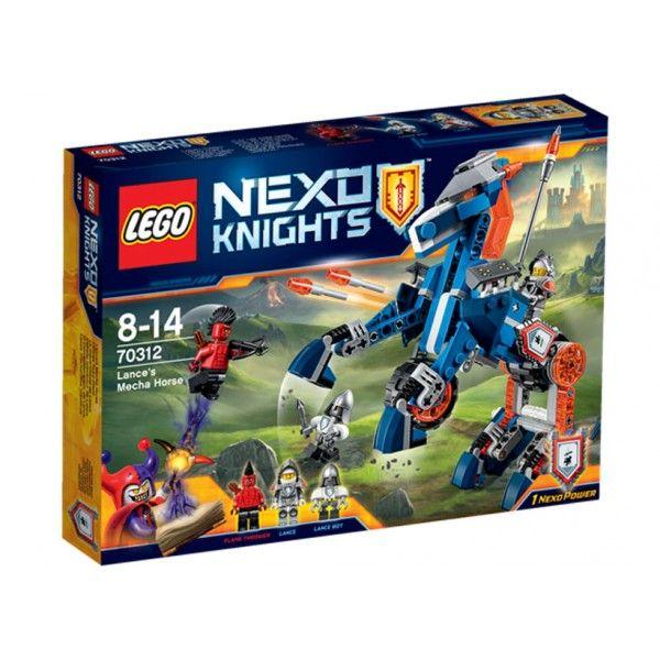 Lego-Nexo Knights,Calul Mecha...