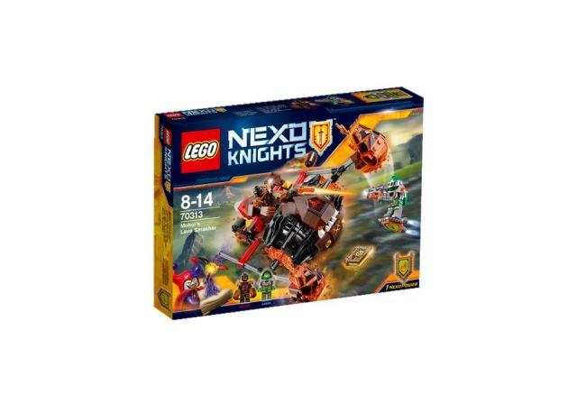 Lego-Nexo Knights,Zdrobitorul de lava al lui Moltor