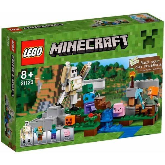 Lego-Minecraft,Golemul de fier