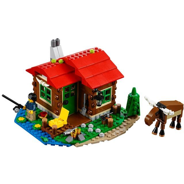Lego-Creator,Casuta de pe malul lacului