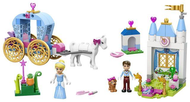 Lego-Juniors,Caleasca Cenusaresei,Disney Princess