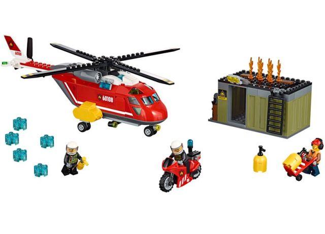Lego-City,Unitatea de interventie de pompieri