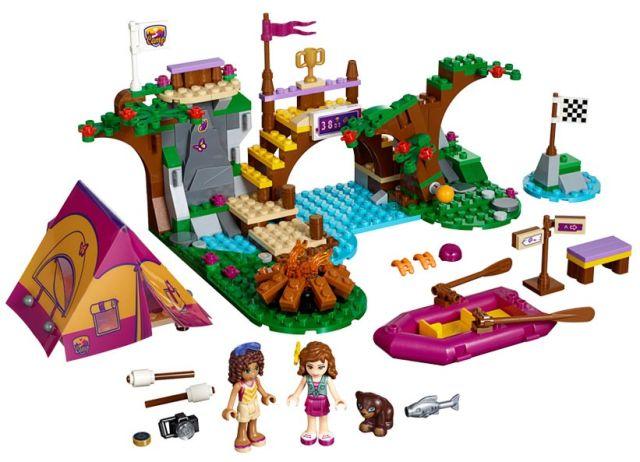 Lego-Friends,Tabara de aventuri: Rafting