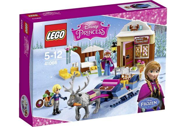 Lego-Disney Princess,Anna si Kristoff,aventura cu sania,Frozen