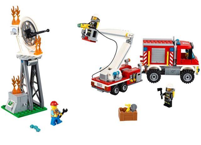 Lego-City,Camion utilitar de pompieri