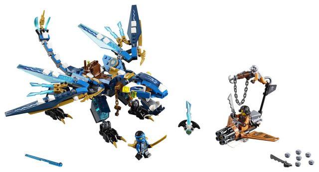 Lego-Ninjago,Dragonul lui Jay