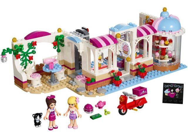Lego-Friends,Cafeneaua cu briose din Heartlake