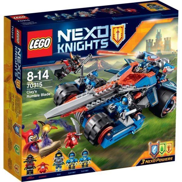 Lego-Nexo Knights,Lama Tunet a lui Clay