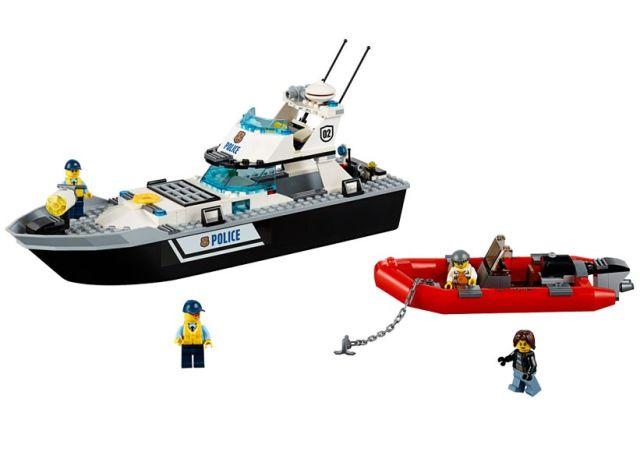 Lego-City,Nava de patrulare a politiei
