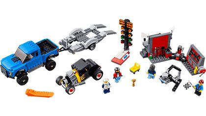 Lego-Speed Champions,Ford F-150 Raptor ?i Ford Model A Hot Rod