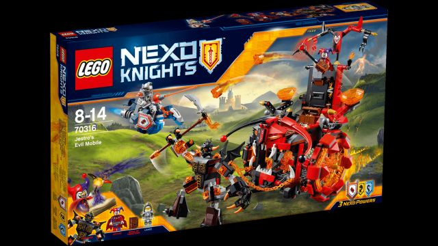 Lego-Nexo Knights,Vehiculul malefic al lui Jestro