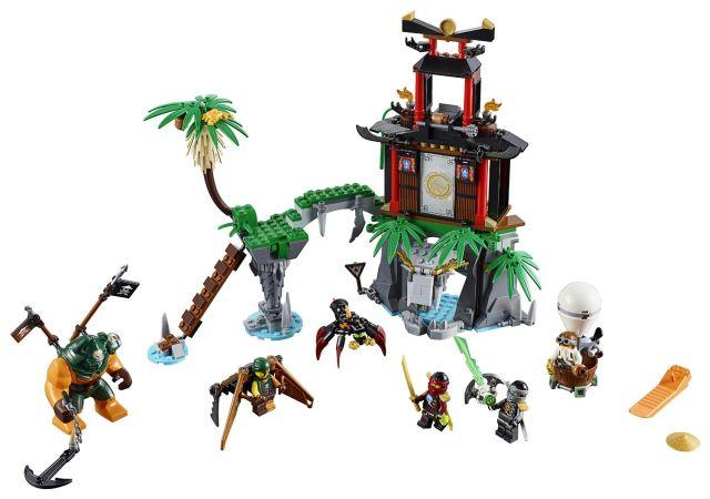 Lego-Ninjago,Insula Tiger Widow