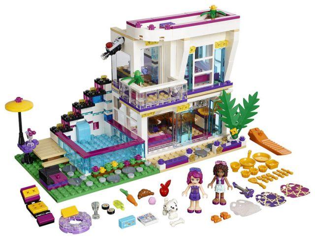 Lego-Friends,Casa vedetei pop,Livi