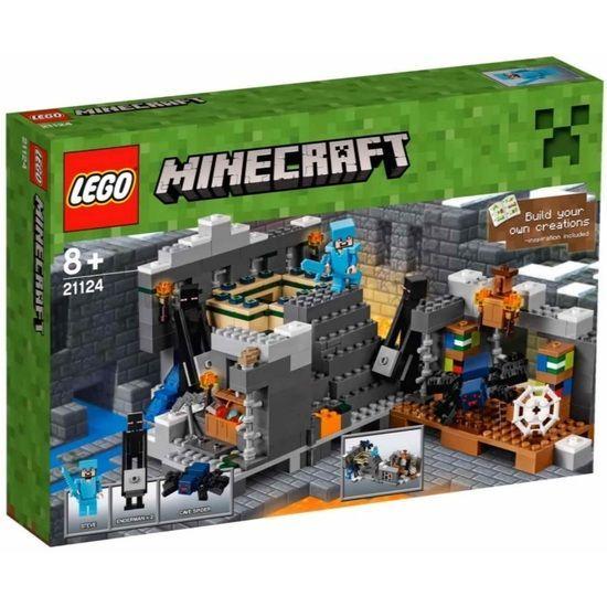 Lego-Minecraft,Portalul final