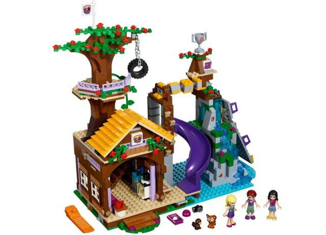 Lego-Friends,Tabara de aventuri,Casuta din copac