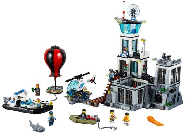 Lego-City,Inchisoarea de pe Insula