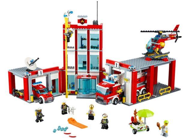 Lego-City,Remiza de pompieri