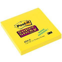 Notite adezive Post-It,Super Sticky,90f