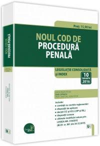 NOUL COD DE PROCEDURA PENALA 2016