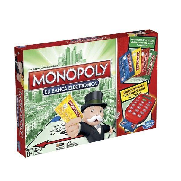 Joc Monopoly,Banca electronica