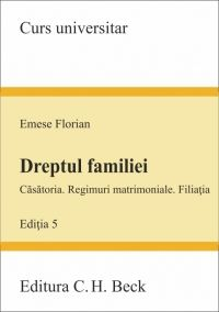 DREPTUL FAMILIEI. ED 5 - EMESE