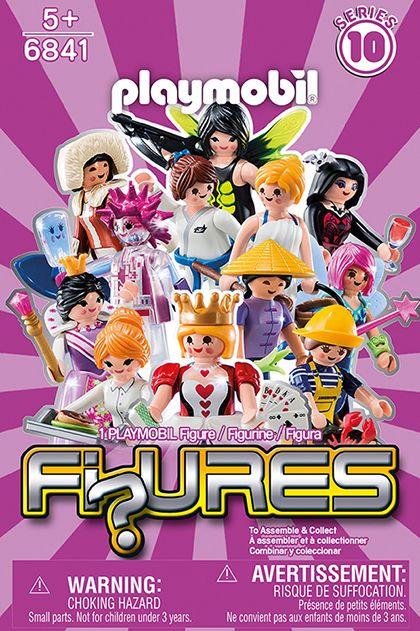 Playmobil-Figurine fete,seria 10