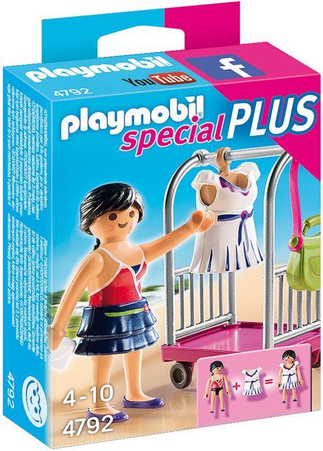 Playmobil-Manechin, suport de haine
