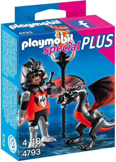 Playmobil-Cavaler, dragon