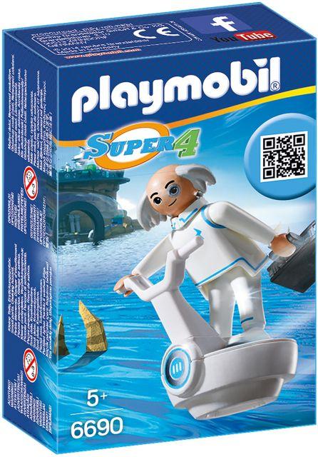 Playmobil-Super 4,doctorul X