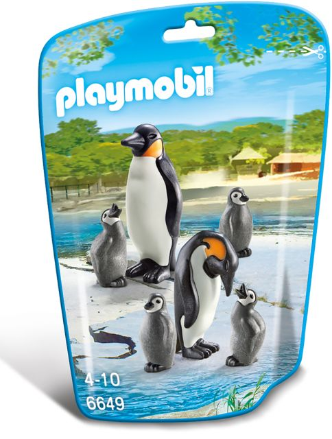 Playmobil-Familie de pinguini