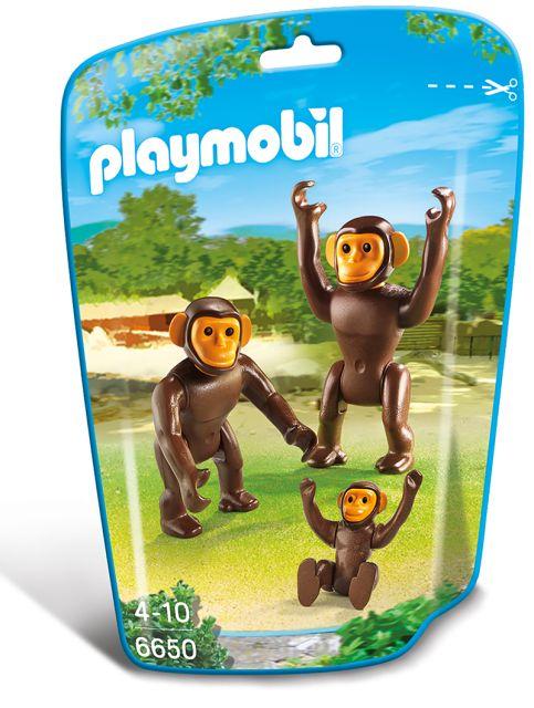 Playmobil-Familie de cimpanzei