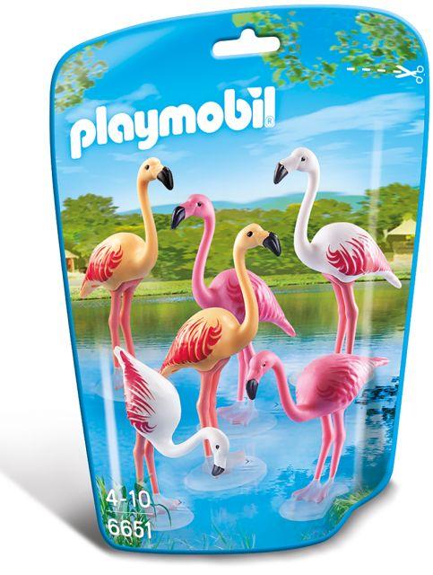 Playmobil-Familie de flamingo