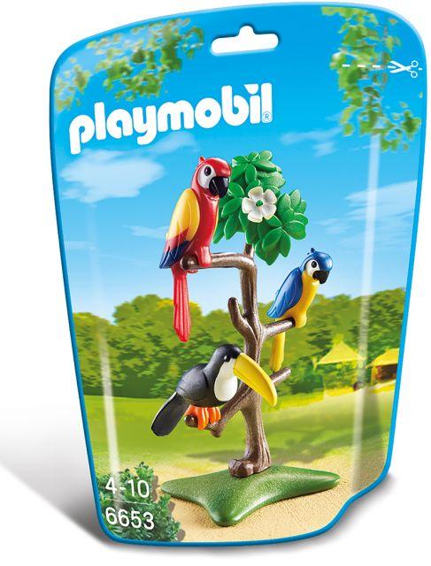 Playmobil-Pasari tropicale