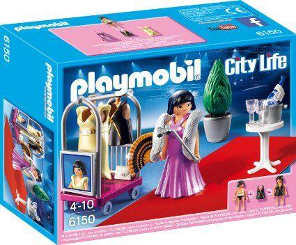 Playmobil-Vedeta pe covorul rosu