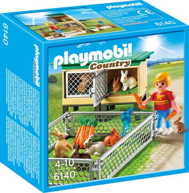 Playmobil-Country,Tarc de iepuri,cusca