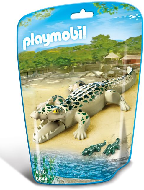 Playmobil-Aligator, pui