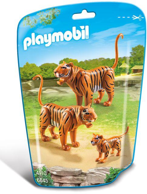 Playmobil-Familie de tigri