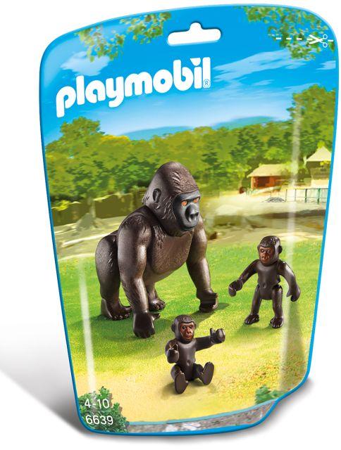 Playmobil-Gorila, pui