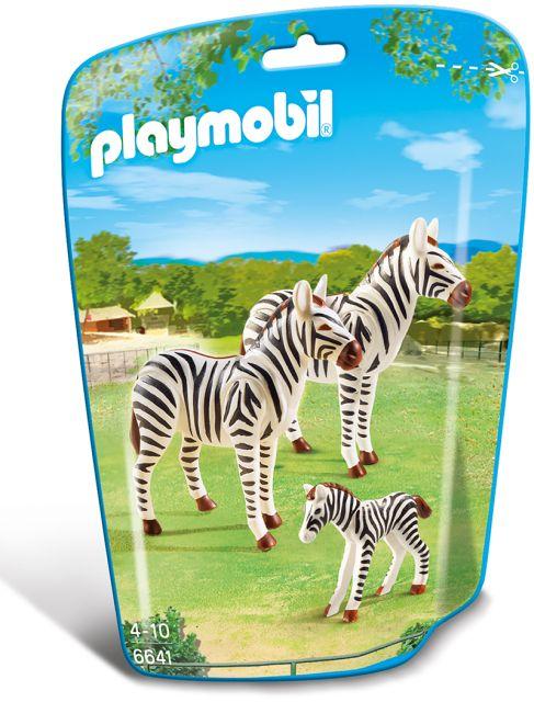 Playmobil-Familie de zebre