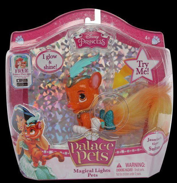 Figurina Disney,Sultan,tigrul Jasminei,coada luminata
