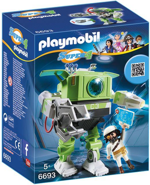 Playmobil-Super 4,robot