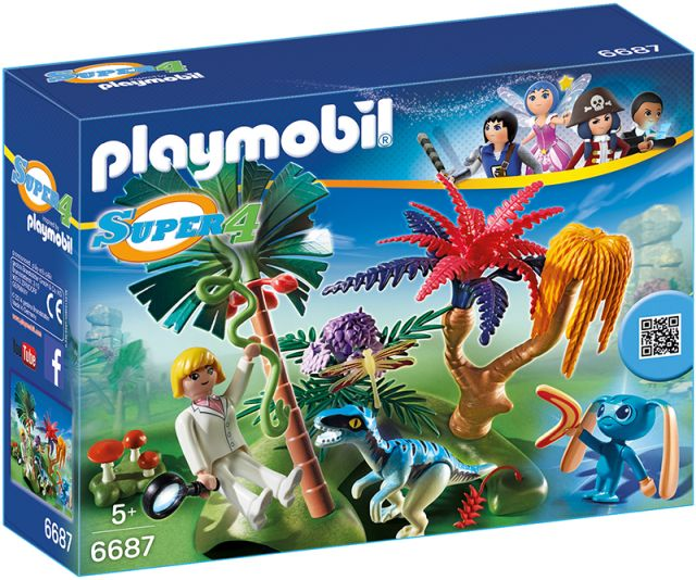 Playmobil-Super 4,insula pierduta