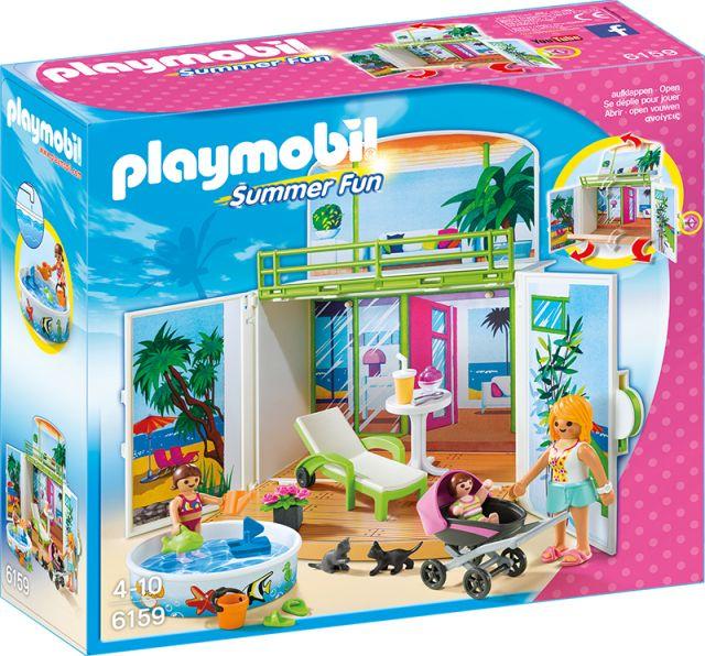 Playmobil-Vila secreta de la plaja,cutie joaca